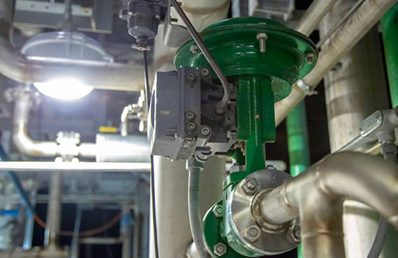 Urea control valves are used in some of the most severe applications in a fertilizer production facility.